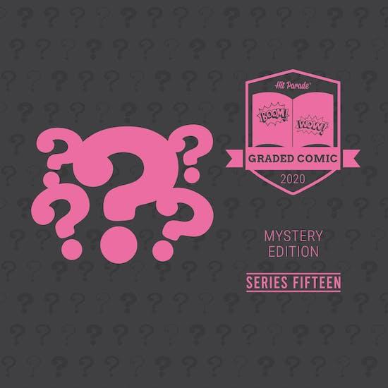 2020 Hit Parade Mystery Graded Comic Edition Hobby Box - Series 15 - Signature Series Comics!