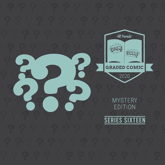 2020 Hit Parade Mystery Graded Comic Edition Hobby Box - Series 16 - Signature Series HITS!