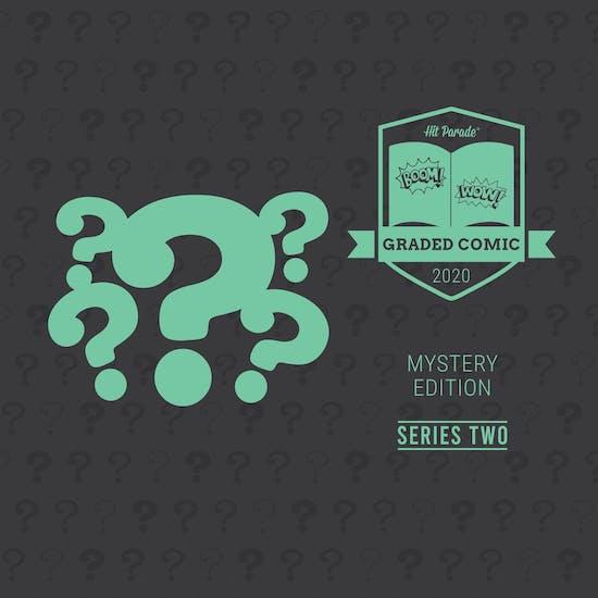 2020 Hit Parade Mystery Graded Comic Edition Hobby Box - Series 2 - Savage She-Hulk #1 9.8!