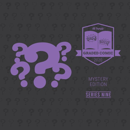2020 Hit Parade Mystery Graded Comic Edition Hobby Box - Series 9 - 1st Zatanna!