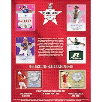 2020 Leaf Perfect Game National Showcase Baseball Hobby Box
