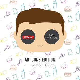 2021 Hit Parade Pop Vinyl Ad Icons Edition- Series 1- 2-box- DACW Live 10 Spot Random Number Break #2