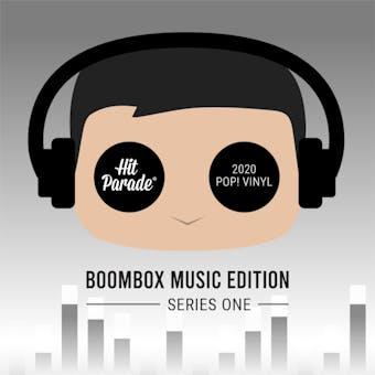 2020 Hit Parade POP Vinyl Boombox Music Edition Hobby Box - Series 1 - Justin Timberlake Auto!