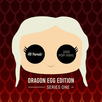 2020 Hit Parade POP Vinyl Dragon Egg Edition Hobby Box - Series 1 - Kit Harrington, Hafthor Bjornsson Autos!