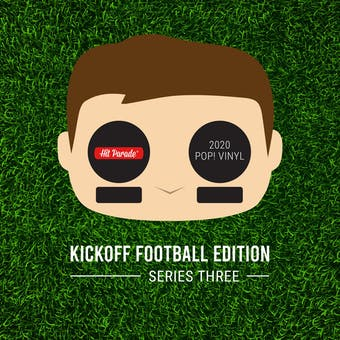 2020 Hit Parade POP Vinyl Kickoff Football Edition Hobby Box - Series 3 - Josh Allen & Adrian Peterson Autos!
