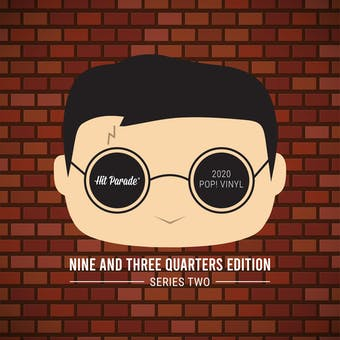 2020 Hit Parade POP Vinyl Nine and Three-Quarters (9 3/4) Edition Hobby Box - Series 2