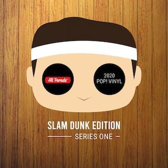 2020 Hit Parade POP Vinyl Slam Dunk Edition Hobby Box - Series 1 - Giannis, Shaq, Magic & Bird Autos!