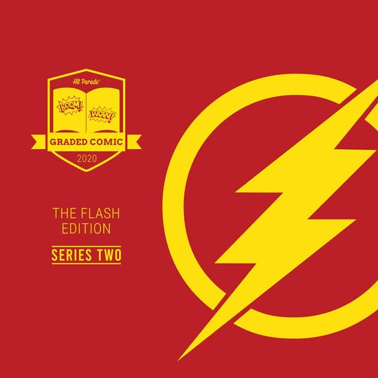 2020 Hit Parade The Flash Graded Comic Edition Hobby Box - Series 2 - 1ST APPEARANCE KID FLASH MIRROR MASTER