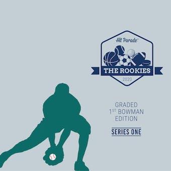 2020 Hit Parade The Rookies - Graded 1st Bowman Edition Series 3 - 10 Box Hobby Case - Witt-Wander-Bregman