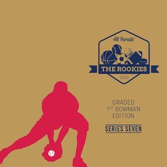 2020 Hit Parade The Rookies - Graded 1st Bowman Edition Series 7 - Hobby Box /100 - Betts-Wander-Witt