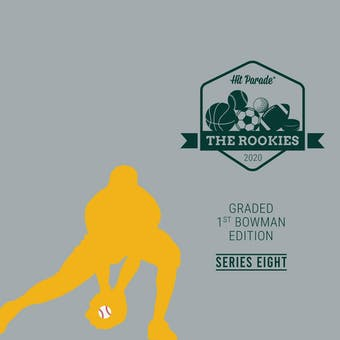 2020 Hit Parade The Rookies - Graded 1st Bowman Edition Series 9 - Hobby Box /100 Tatis-Stanton-Bregman