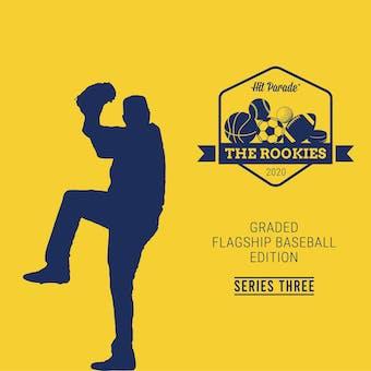 2020 Hit Parade The Rookies - Graded Flagship Edition Series 3 - 10 Box Hobby Case /100 Kershaw-Tatis-Soto