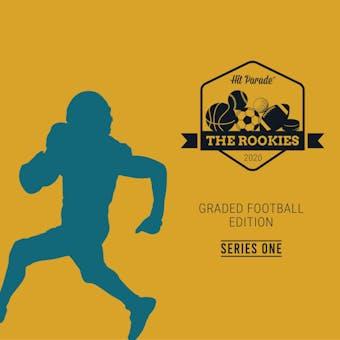 2019/20 Hit Parade The Rookies Graded Football Edition - Series 1 - 10-Box Hobby Case /100 Kyler-Mahomes-Marin