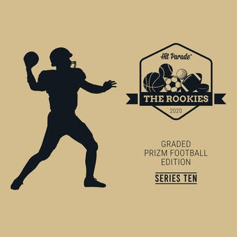 2020 Hit Parade The Rookies Prizm Football Edition Series 10- 1-Box- Dacw Live 8 Spot Random Division Break #5