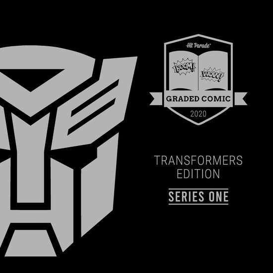 2020 Hit Parade Transformers Graded Comic Edition Hobby Box - Series 1 - 1st Appearance & Autos!