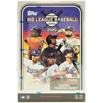 2020 Topps Big League Baseball Collector Hobby Box