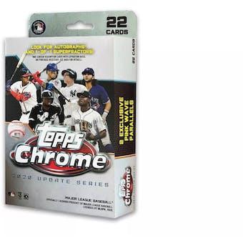 2020 Topps Chrome Update Baseball Hanger Box