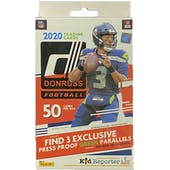 2020 Panini Donruss Football Hanger Box (Red)