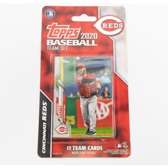 2020 Topps Baseball Cincinnati Reds Team Set