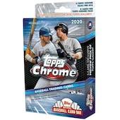 2020 Topps Chrome Baseball Hanger Box