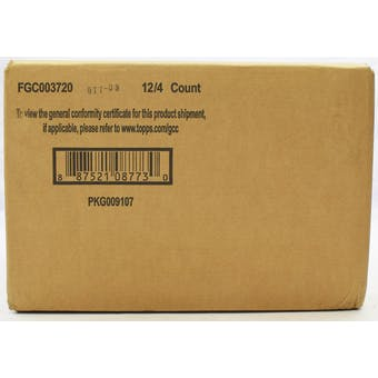 2020 Topps UFC Knockout Hobby 12-Box Case