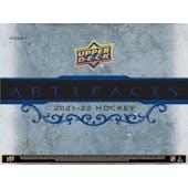 2021/22 Upper Deck Artifacts Hockey Hobby 10-Box Case (Presell)