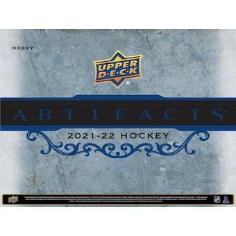 2021/22 Upper Deck Artifacts Hockey Hobby 20-Box Case (Presell)