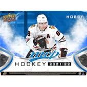 2021/22 Upper Deck MVP Hockey Hobby 20-Box Case (Presell)