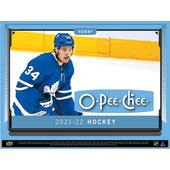 2021/22 Upper Deck O-Pee-Chee Hockey Hobby Box (Presell)