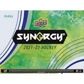2021/22 Upper Deck Synergy Hockey Hobby Box (Presell)