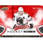 2021/22 Upper Deck MVP Hockey Blaster 20-Box Case (Presell)