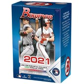 2021 Bowman Baseball 6-Pack Blaster Box