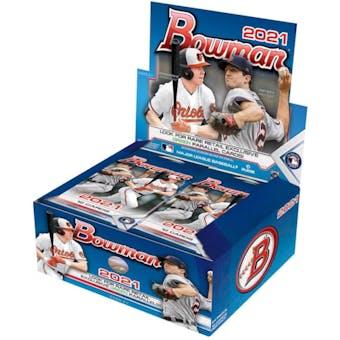 2021 Bowman Baseball Retail 24-Pack Box