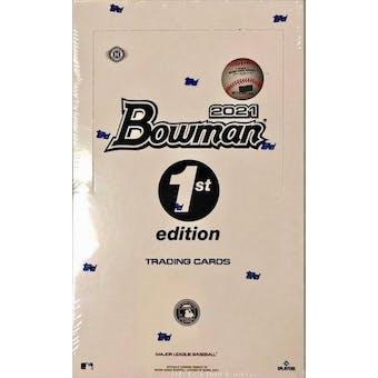 2021 Bowman 1st Edition Baseball 2-Box- DACW Live 6 Spot Random Division Break #1