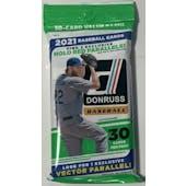 2021 Panini Donruss Baseball Value/Fat Pack (Lot of 12)