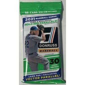 2021 Panini Donruss Baseball Jumbo Value Pack
