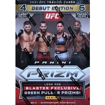 2021 Panini Prizm UFC 6-Pack Blaster Box