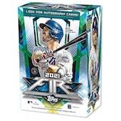2021 Topps Fire Baseball 7-Pack Blaster Box