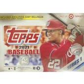 2021 Topps Series 1 Baseball Mega Box (Cody Bellinger Highlights!)