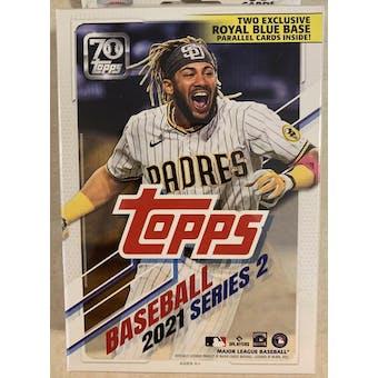 2021 Topps Series 2 Baseball Hanger Box (Royal Blue Parallels!)