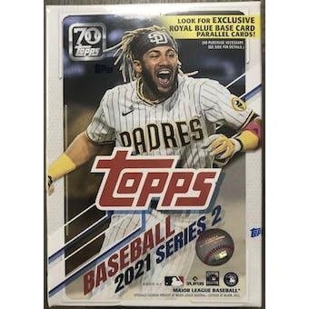 2021 Topps Series 2 Baseball 7-Pack Blaster Box (Juan Soto Highlights!)