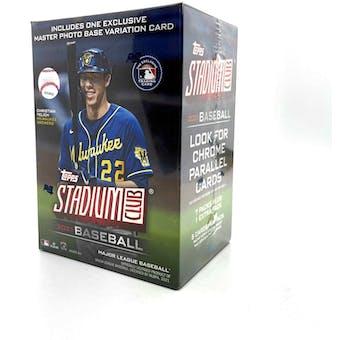 2021 Topps Stadium Club Baseball 8-Pack Blaster Box