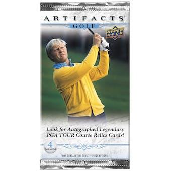 2021 Upper Deck Artifacts Golf Hobby Pack