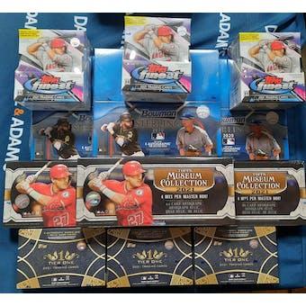2021 Baseball Mixer SUPER Break 12-Box- 2021 National 30 Spot Random Team Break #1