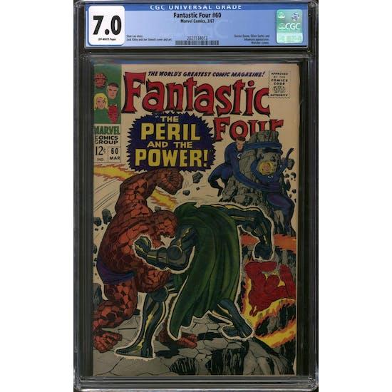 Fantastic Four #60 CGC 7.0 (OW) *2021134013*