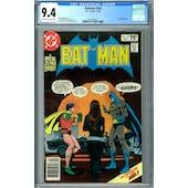 Batman #330 CGC 9.4 (OW-W) *2021367014*