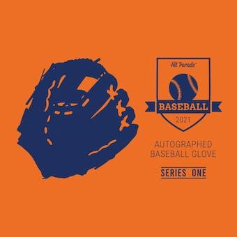 2021 Hit Parade Auto Baseball Glove Series 1- 1-Box- DACW Live 6 Spot Random Division Break #1
