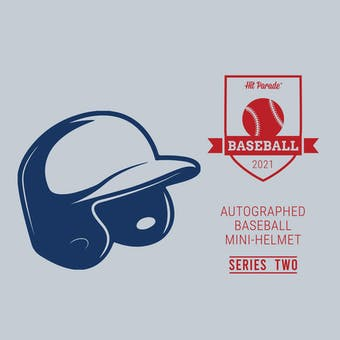 2021 Hit Parade Auto Baseball Mini Helmet Series 2- 1-Box- DACW Live 6 Spot Random Division Break #3