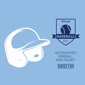 2021 Hit Parade Autographed Baseball Mini Helmet Hobby Box - Series 5 - D. Jeter, R. Acuna & M. Cabrera!!!