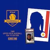 2021 Hit Parade 1989 Baseball PSA 10 Edition Series 1 Hobby Box /200 GRIFFEY RC!